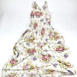 LC Lauren Conrad Floral Maxi Dress